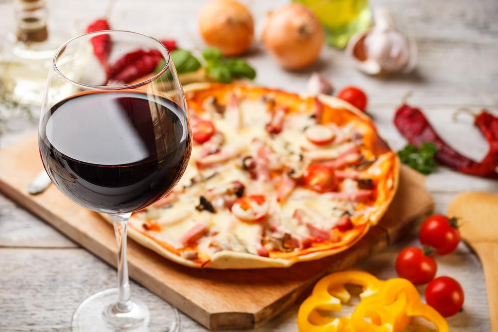Welke wijn drink je bij pizza